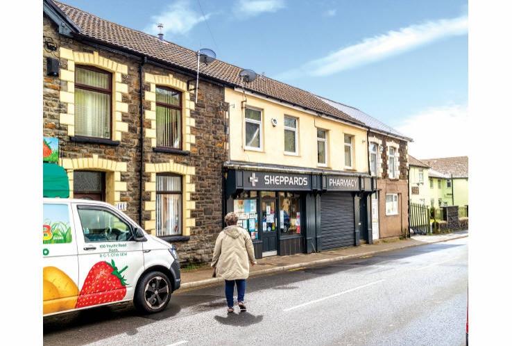 Sheppard's Pharmacy<br>102/103 Ynyshir Road<br>Ynyshir<br>CF39 0EW