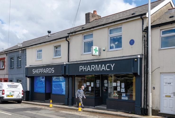 Sheppard's Pharmacy<br>217-219 Cardiff Road<br>Aberaman<br>CF44 6RG