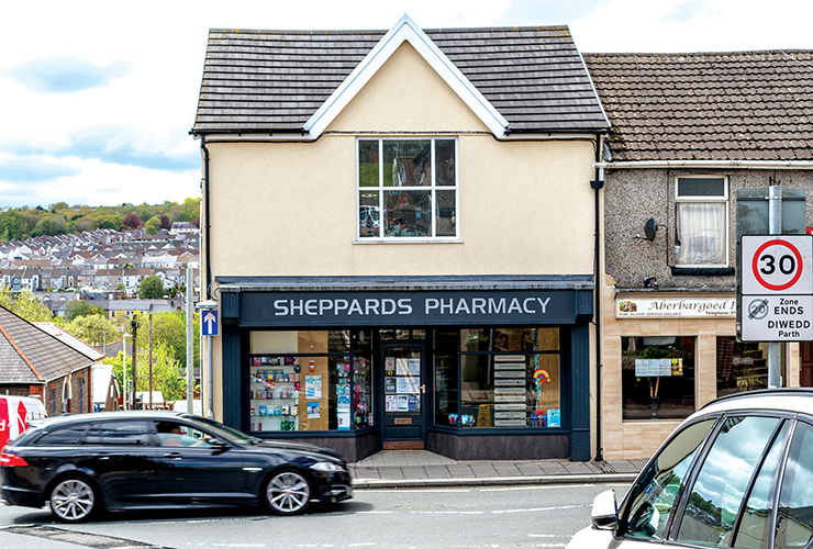 Sheppard's Pharmacy<br>50 Commercial Street<br>Aberbargoed<br>CF81 9BU