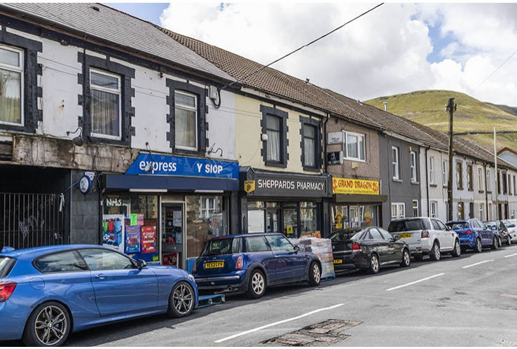 Sheppard's Pharmacy, 227 Park Road<br>Cwmparc<br>Treorchy<br>CF42 6LD