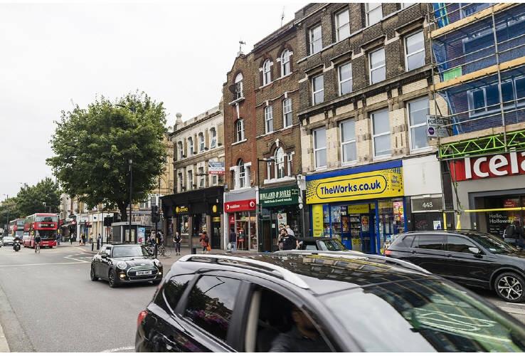 452 Holloway Road, London, N7 6QA
