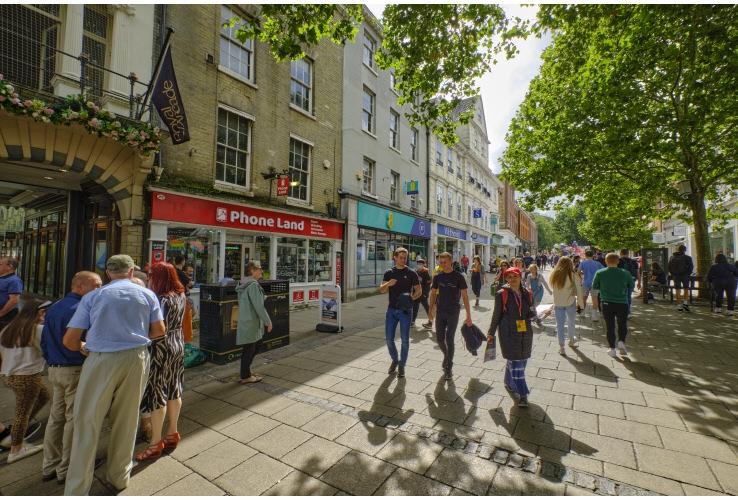 Royal Arcade, Gentlemans Walk / Castle Street, Norwich, Norfolk, NR2 1NQ