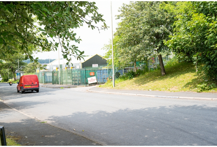 Civic Amenity Site, St. Margarets Park, Pengam Road, Aberbargoed, Caerphilly, CF81 9FW