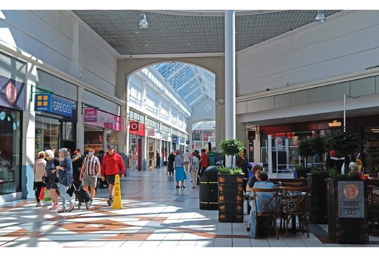 St Elli Shopping Centre, Llanelli, Carmarthenshire, SA15 1SH